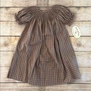 Other - Girls smocked Fall colors dress